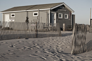 Lifeguard Shack at Jones Beach - Vintage Colorize | by EssGee Photography™