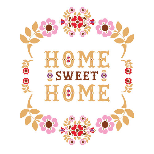 home sweet home | Been wanting to do a modern folky ...