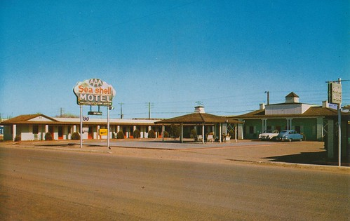 sea shell motel holbrook arizona u s highway 66. Black Bedroom Furniture Sets. Home Design Ideas