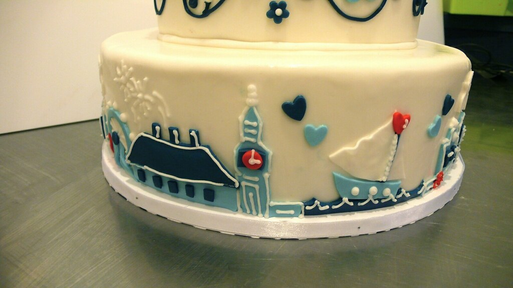 wedding cake jobs london skyline cake delfts blauw themed wedding 22997