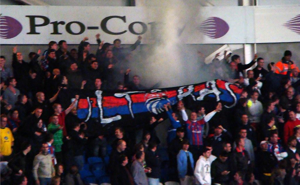Palace Ultras Flag 05 11 11 Cardiff V Crystal Palace