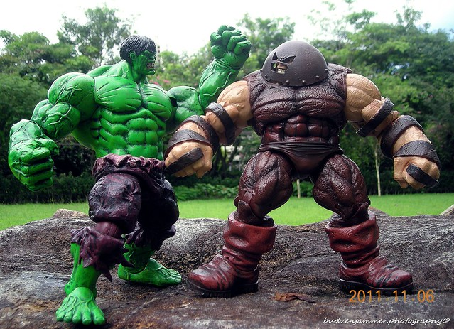 HULK VS JUGGERNAUT | Marvel select hulk and juggernaut ...