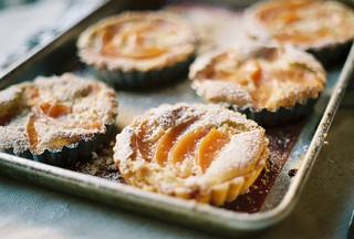 quince frangipane tartlets | by yossy arefi