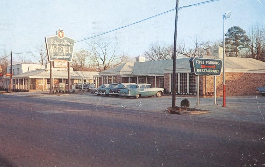 Jackson Trace Motel & Restaurant - Sylacauga, Alabama