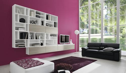 soggiorno in rovere portofino soggiorno moderno