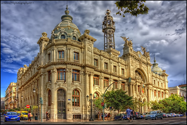 Edificio de correos valencia flickr photo sharing for Horario oficina de correos valencia