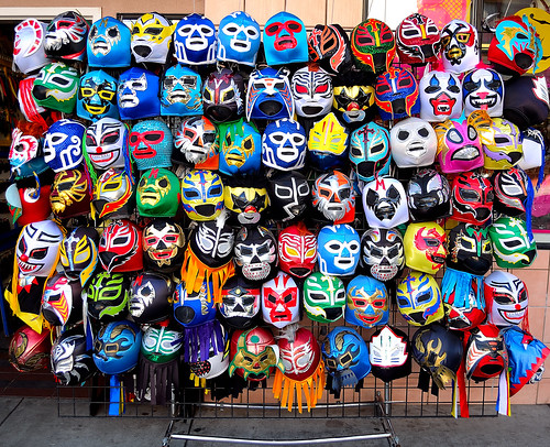 Wrestling Masks | by wigmore126