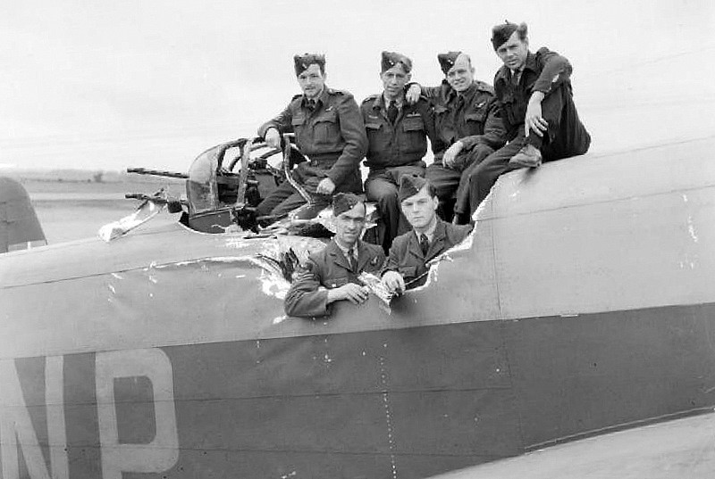 Photo Page: Handley Page Halifax B Mark II, HR837 'NP-F', Of No. 158 S