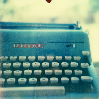 typewriter | by Celina Innocent