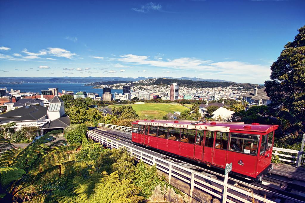 Wellington Cable Car Wellington North Island New Zealand