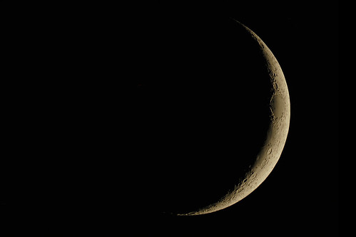 The Moon on 3/25/12 | by FlintstoneStargazer