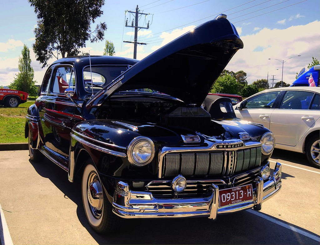 1947 Mercury Coupe Beautifully Restored 47 Ford Mercury
