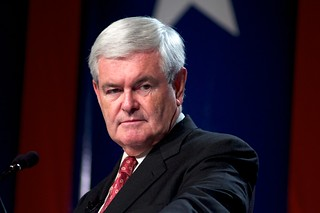 """who doubts that I am newt gingrich?"" 