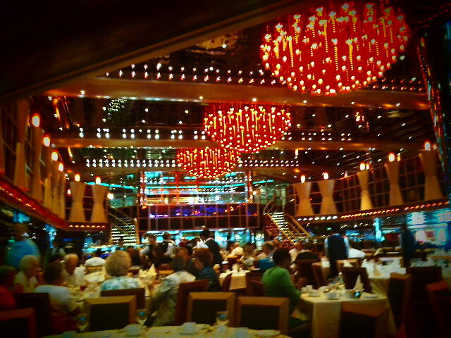 Carnival Dream Dining Room