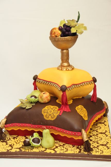 V Opulentes Kissen Hochzeitstorte Stilleben Herbst Flickr