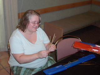 Allison-makes-a-kite | by Benicia Public Library