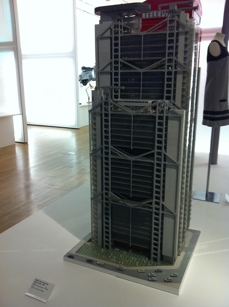 Scale Model Of Hsbc Building In Hong Kong Hsbc