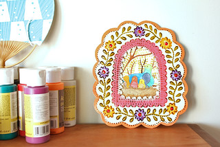 Tin framed art | by Geninne