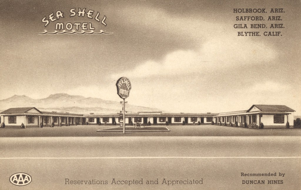 Sea Shell Motel - Safford, Arizona