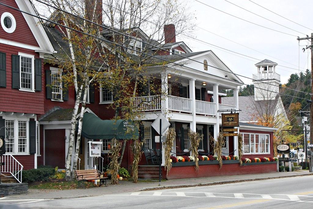 Green Mountain Inn Stowe Vermont Peaflockster Flickr