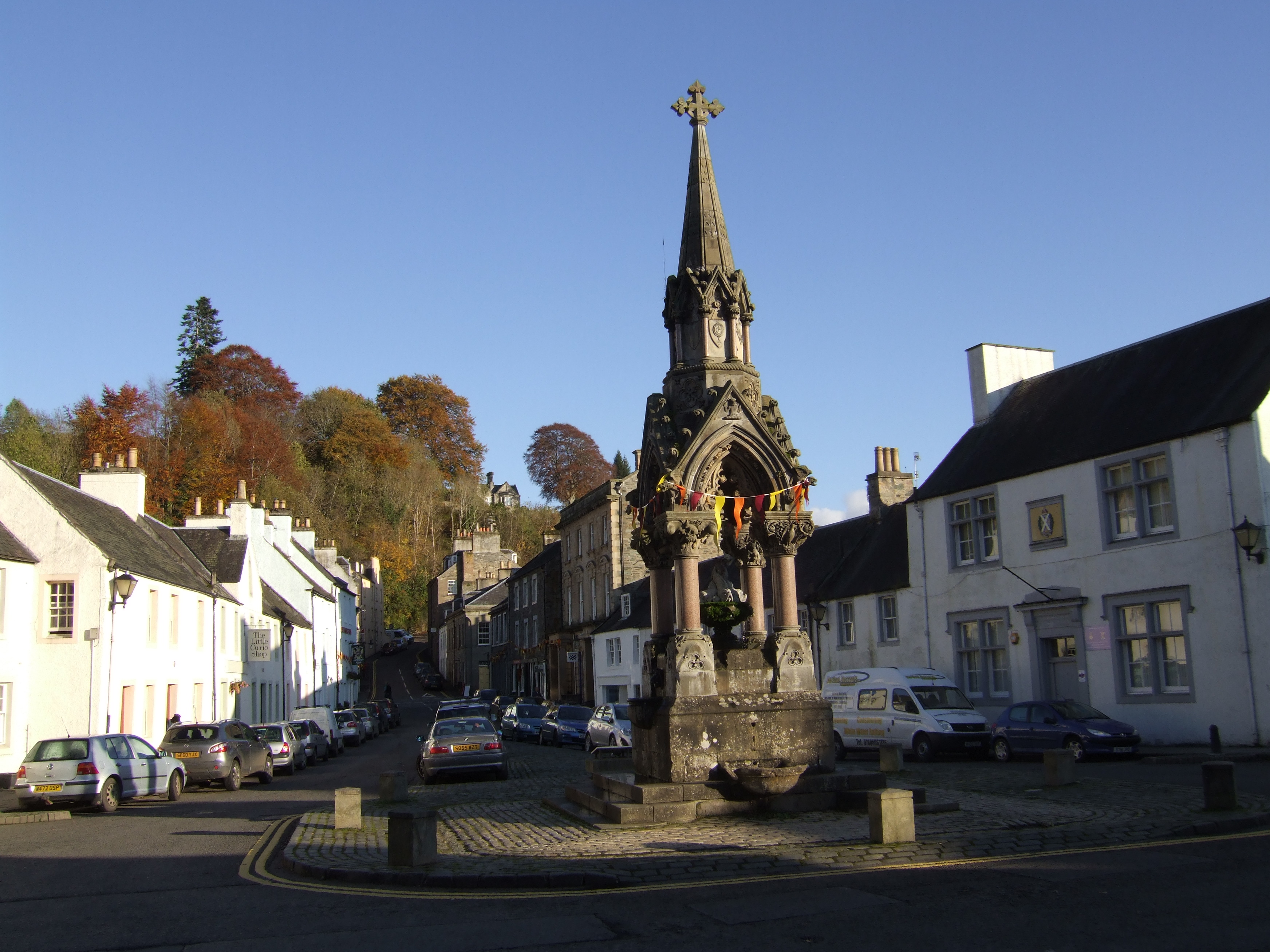 Dunkeld Town Square