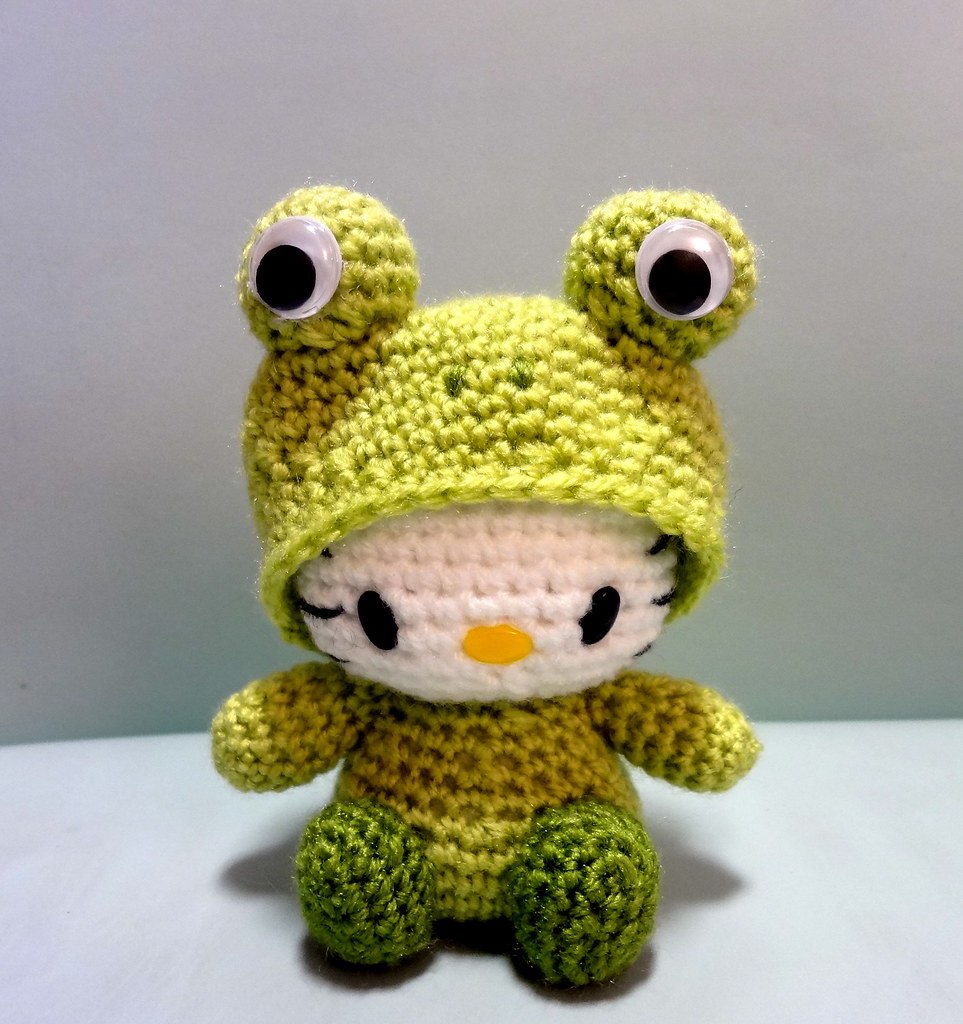 Frog Amigurumi Hello Kitty | I have been asked to reproduce ...