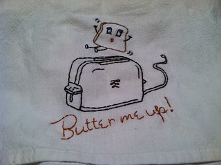 Butter Me Up Vintage Embroidery | by tw715