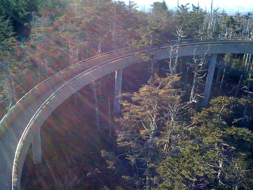 Another section of the ramp to the top of Clingman's Dome | by kartoone76