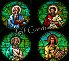 The Gospel Writers   Window in St. Gabriel's Catholic Church…   Flickr