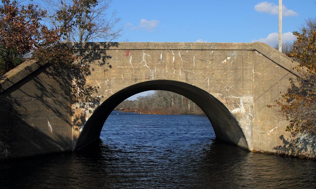 Lirr Carmans River Bridge Long Island Railroad Bridge