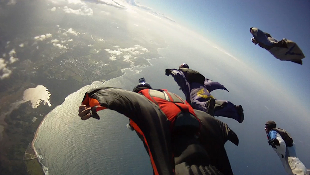 Ocean Wingsuit Formation | Richard Schneider | Flickr