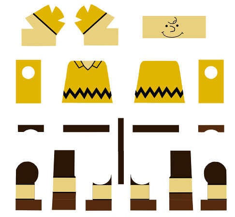 charlie brown decals template by roaglaan and the head de flickr