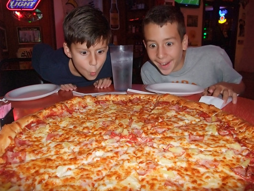 BANGBROS - Magnum Size Pizza Delivery for Petite Teen.