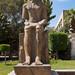 Statue of a Pharaoh in Cairo Museum gardens - Exipto
