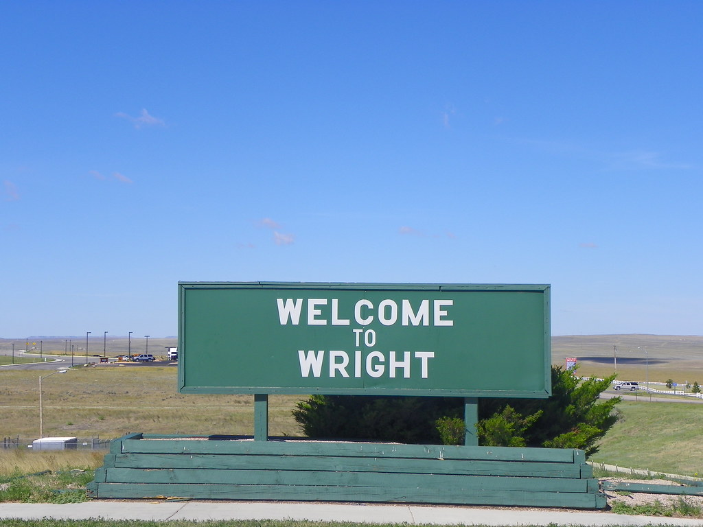 Welcome To Wright Wyoming Campbell County Wyoming Flickr