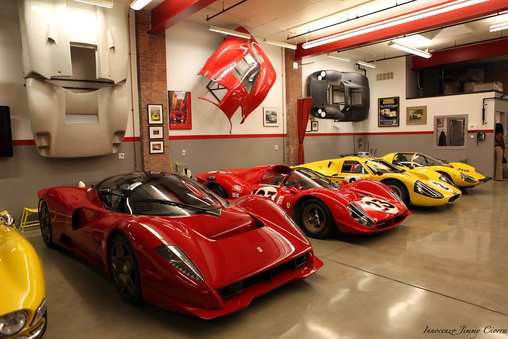 James Glickenhaus Garage Jesse Glickenhouse Charity The