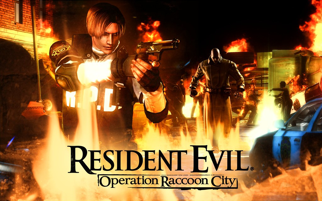 Resident Evil Operation Raccoon City Wallpaper A Wallpaper Flickr
