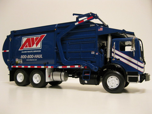 First Gear Allied Waste Front Load Trash Truck First