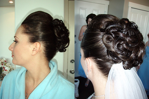 twisted-updo-wedding-hairstyle | by vanmobilehair