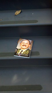 The Ed Lee bio on Dennis Herrera's front steps | by jmullan