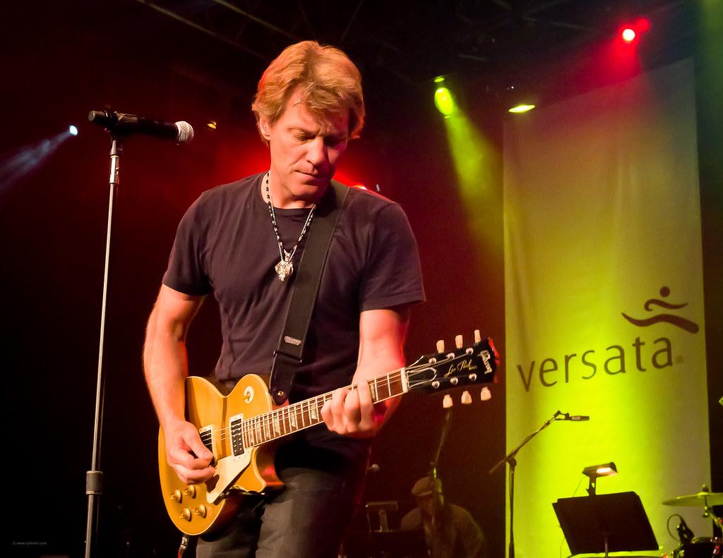 Bon Jovi Jon Bon Jovi At House Of Blues In Orlando Florid Flickr