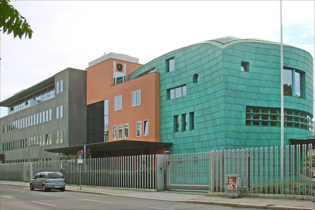 L 39 ambassade d 39 autriche berlin ce complexe tr s for Architecte 3d 2001