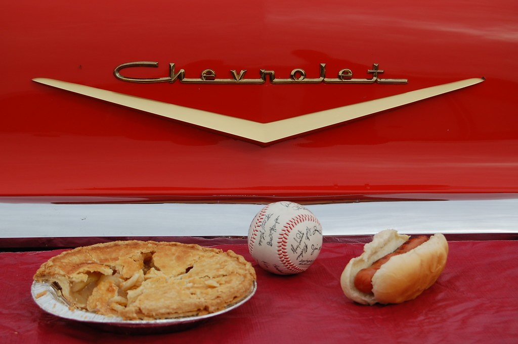 Baseball, Hot Dogs, Apple Pie and Chevrolet.