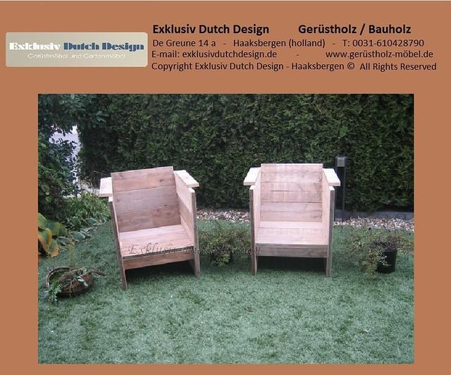 bauholz lounge stuhle sessel. Black Bedroom Furniture Sets. Home Design Ideas