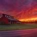 Millstream Park Sunrise - Valley City, Ohio.