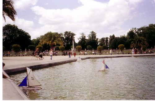 Grand bassin jardin de luxembourg paris france oldsailro flickr - Grand bassin de jardin ...
