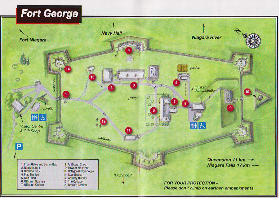 fort george map