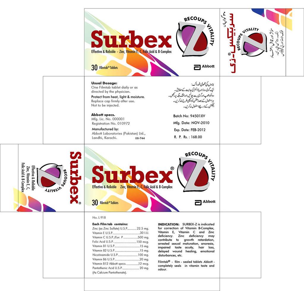 Abbott Surbex Z Redesign From Scanning Muhammad Haidullah