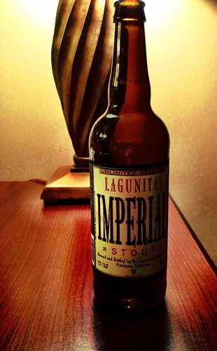Lagunitas Imperial Stout - great way to wind down on a Wednesday | by martinbowling
