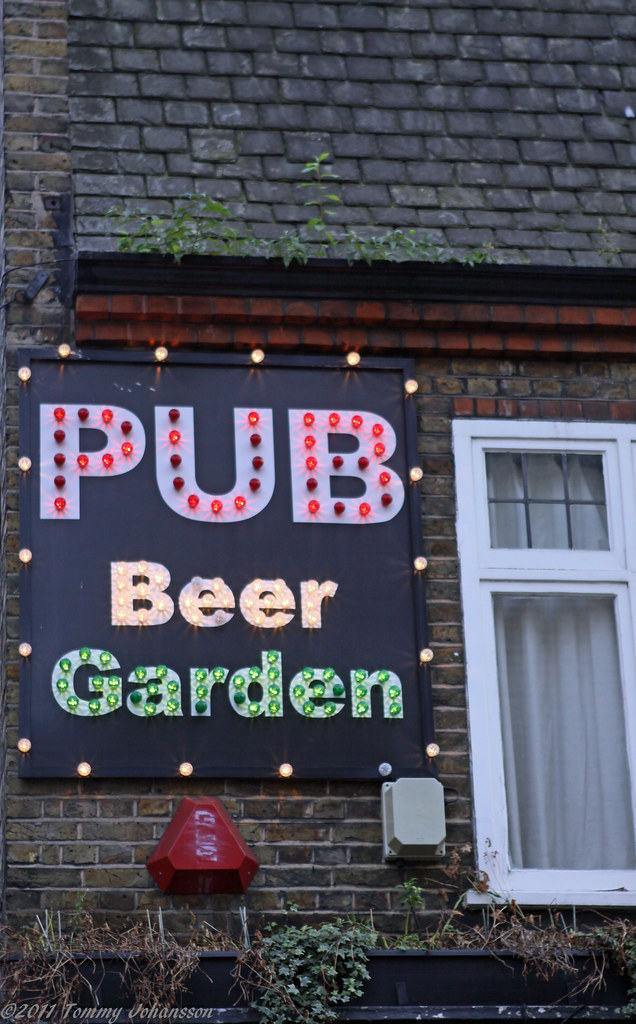 Pub beer garden originally posted for the guess where - Village beer garden port chester ...